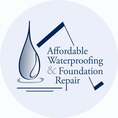 Affordable Waterproofing logo recreation