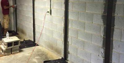 basement waterproofing cost per linear foot lexington nc